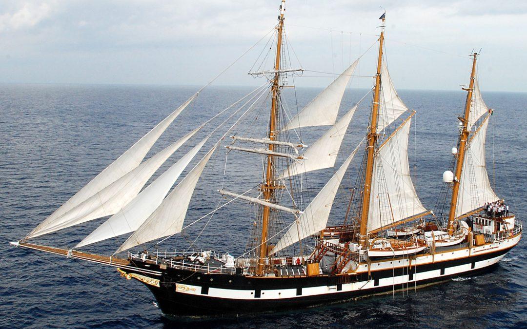 La Nave Scuola Palinuro per lo Spettacolare Sbarco del Don Giovanni d'Austria!